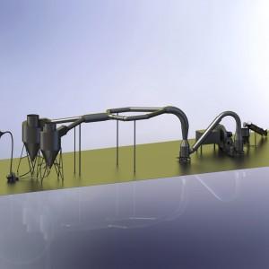 Аэродинамическая сушилка  кормовая